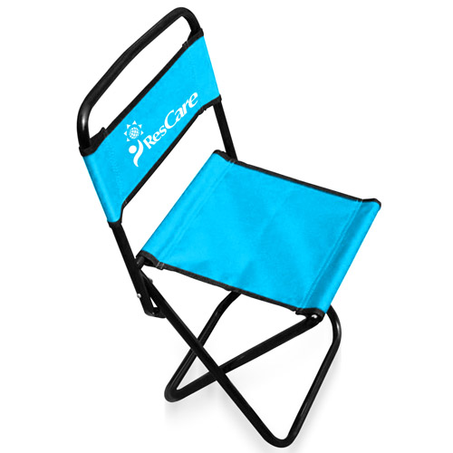 Portable Backrest Folding Chair
