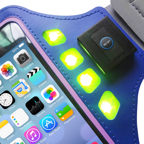 LED Sports Phone Sleeve Armband Image 12