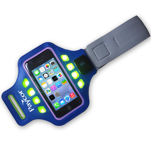 LED Sports Phone Sleeve Armband Image 1