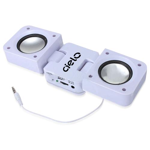3.5mm Square-Shaped Folding Speaker