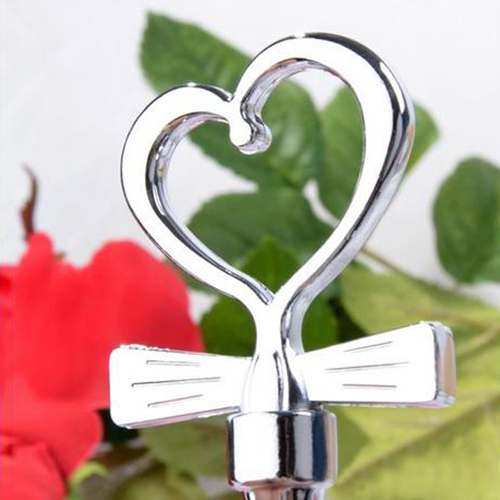 Bow-Tie Heart Shaped Corkscrew