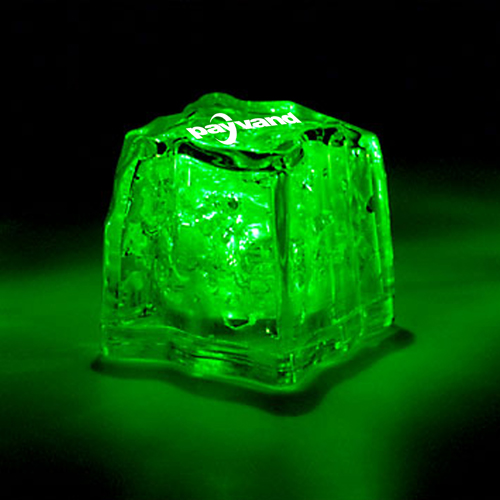 Liquid Activated Glow Ice Cube Image 9