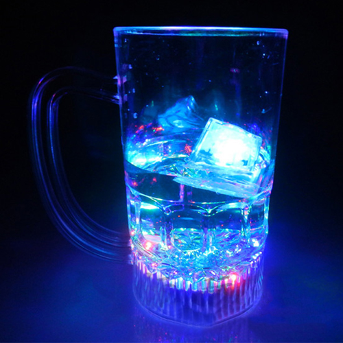 Liquid Activated Glow Ice Cube Image 1