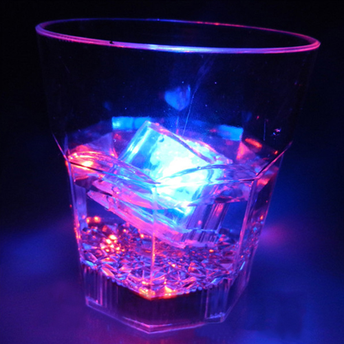 Liquid Activated Glow Ice Cube Image 5