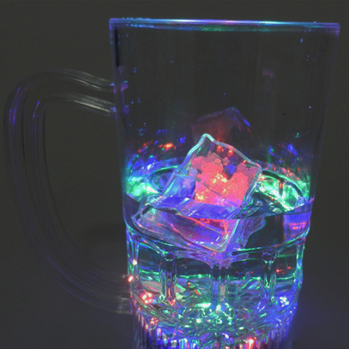 Liquid Activated Glow Ice Cube Image 6