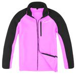 Polyester Zipper Up Hoodies Jacket