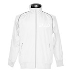 Piping Full Zip Polyester Jacket