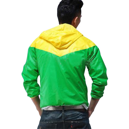 Mens Hooded Sports Jacket