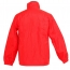 Stand Collar Windbreaker Polyester Jacket