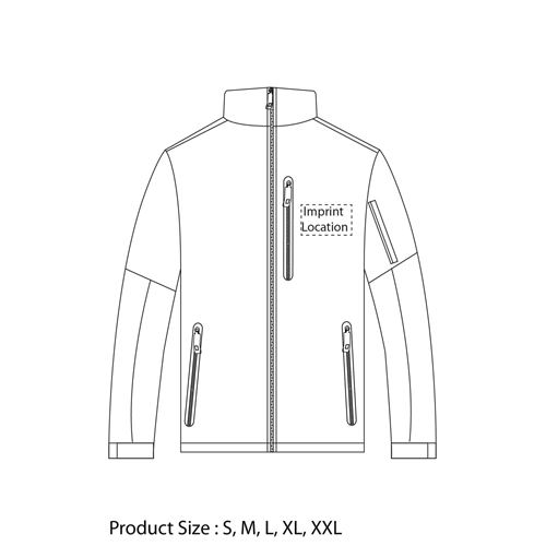 Outdoor North Face Jacket Imprint Image