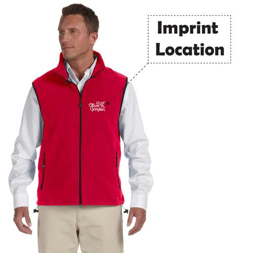 Cardigan Vest Jacket Imprint Image