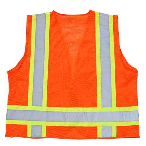 Polyester Safety Vest With Pocket