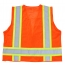 Polyester Safety Vest With Pocket Image 1