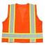 Polyester Safety Vest With Pocket Image 1