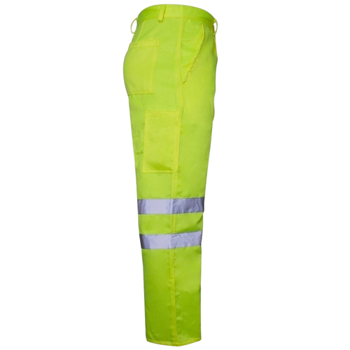 Reflective Safety Trouser With Cargo Pocket Image 2