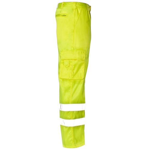 Reflective Safety Trouser With Cargo Pocket