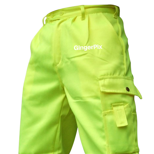 Reflective Safety Trouser With Cargo Pocket Image 4