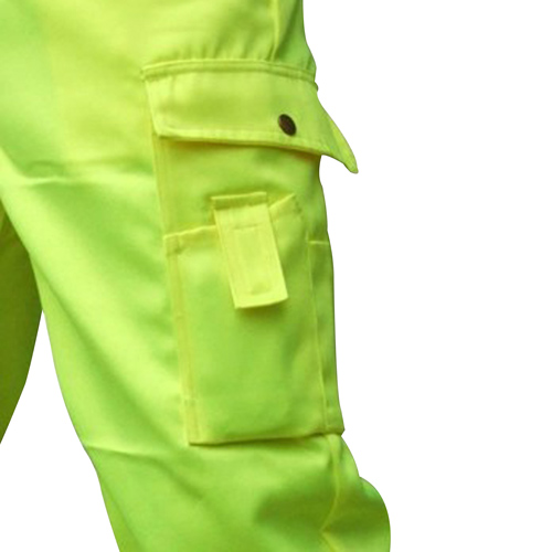 Reflective Safety Trouser With Cargo Pocket Image 5