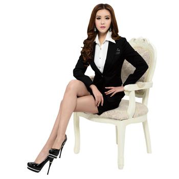 Women Slim Pant Suit