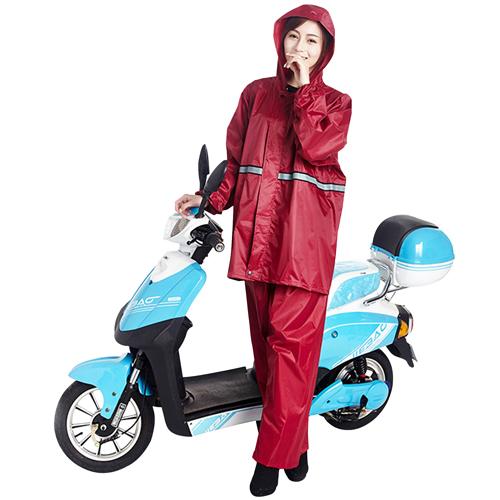 Multi-Functional Reflective Rain Coat