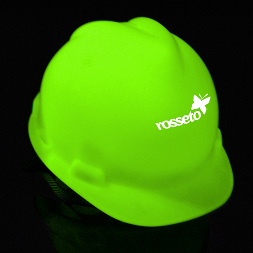 Glow In Dark Safety Helmet