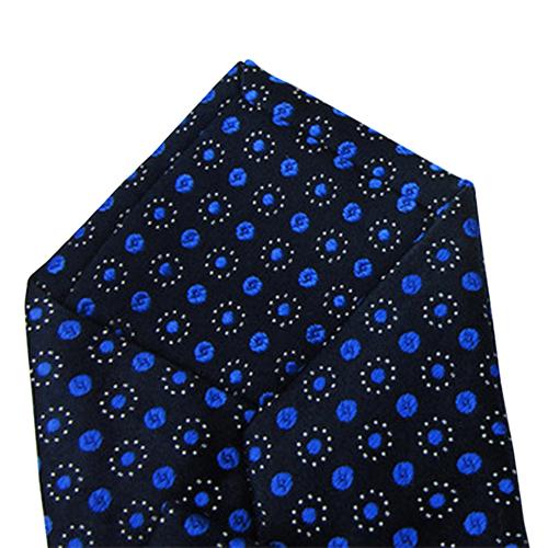 Geometric Pattern Mulberry silk Tie