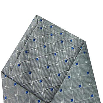 Geometric Square Grid Tie