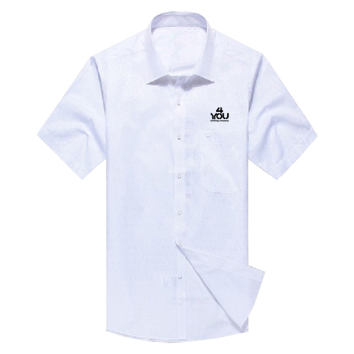 Short Sleeve Dress Shirt Image 3