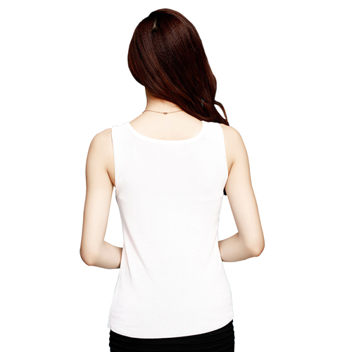 Rhinestone Sleeveless Top