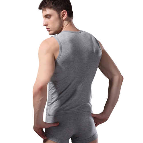 Broad Shoulder Sleeveless Singlet