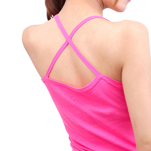 Cross Back Womens Singlet