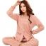 Floral Cotton Round Neck Pajamas