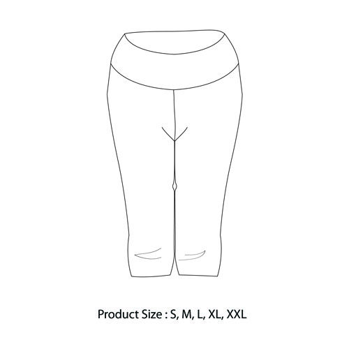 Fitted Stretch Cotton Yoga Pant