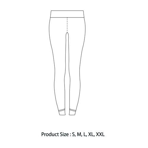 Cotton-Blend Leggings With Pockets