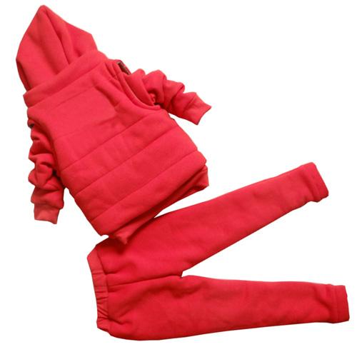 Three-Piece Thick Fleece Sweater