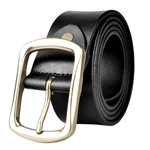 Mens Metal Pin Buckle Belt