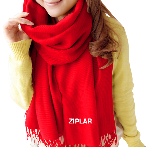 Plain Solid Winter Scarf