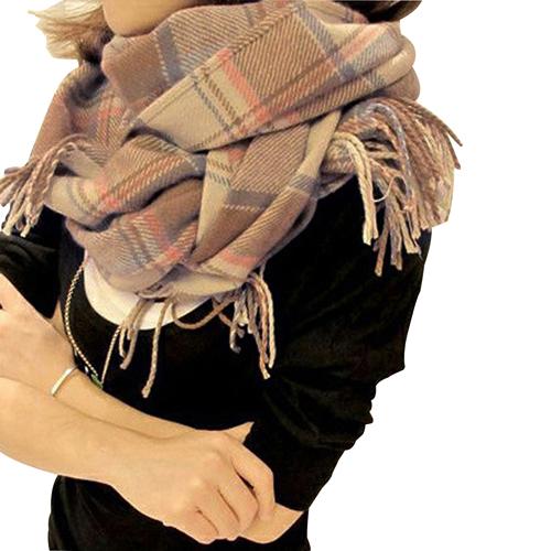 Cashmere Fashion Plaid Scarf