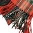 Large Plaid Tassel Scarf