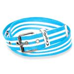Striped Polyester Webbing Belt