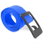 Rectangle Pin Buckle Canvas Belt