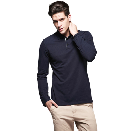 Long Sleeve Polo Shirt Image 2