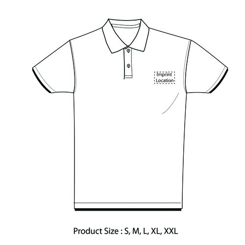 Short Sleeve Lapel Polo Shirt