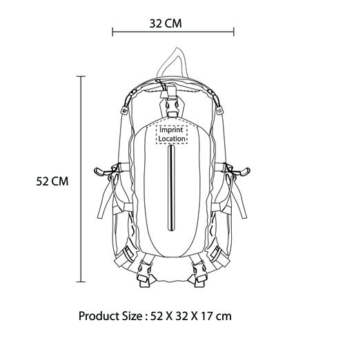 ZaZa Waterproof Backpack