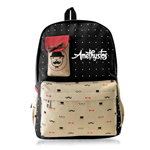 Canvas Happy School Bag