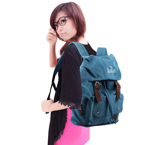 Unisex Swag Canvas Backpack
