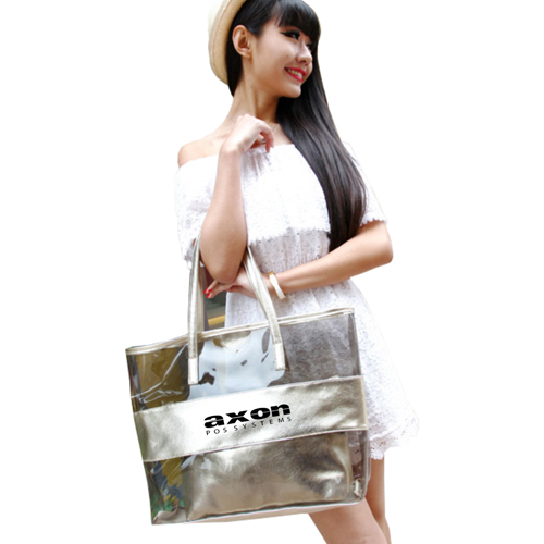 Classic Crystal Clear Shoulder Bag