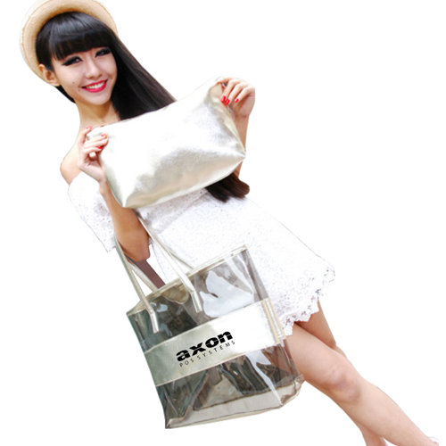 Classic Crystal Clear Shoulder Bag