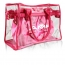 Transparent Roomy Interior Beach Bag