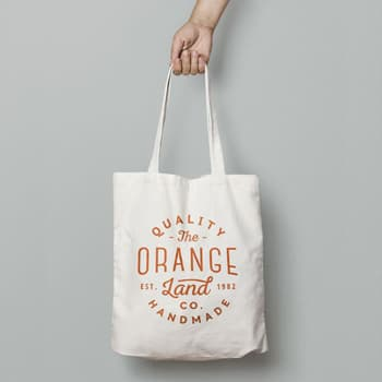 Eco Natural Canvas Bag